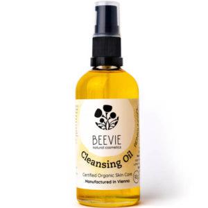 BEEVIE Reinigungsöl Flasche Biokosmetik